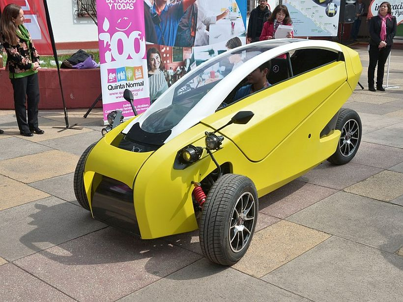 Sôki auto electrico chileno